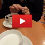 【音声有】ピーシーマックスのサイトで知り合った大学生とお茶動画