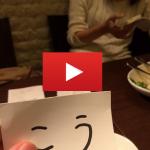 動画公開!ワクワクメールで知り合った大学生・モデル美人と食事!
