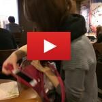 画像・動画有!派手な23歳社会人とカフェデート動画【出会い系体験】